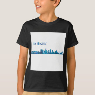 Los Angeles Skyline Silhouette T-Shirt