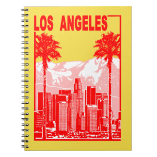 Los Angeles Spiral Notebook