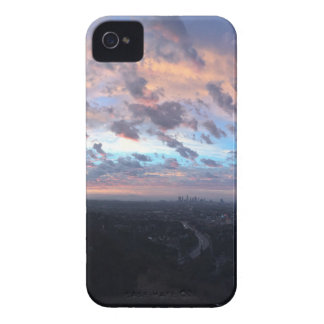 Los Angeles Sunrise off Mulholland Dr Case-Mate iPhone 4 Case