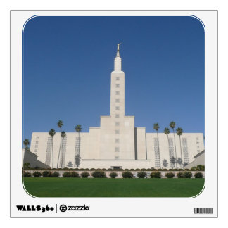 LOS ANGELES TEMPLE WALL ART WALL DECAL
