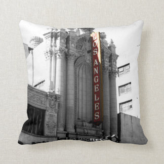 Los Angeles Theater Throw Pillow