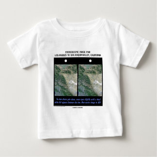 Los Angeles To San Joaquin Valley, California Baby T-Shirt