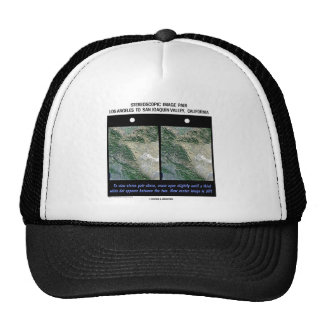 Los Angeles To San Joaquin Valley, California Mesh Hat