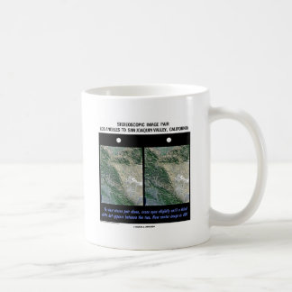 Los Angeles To San Joaquin Valley, California Mug