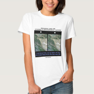 Los Angeles To San Joaquin Valley, California T-shirts