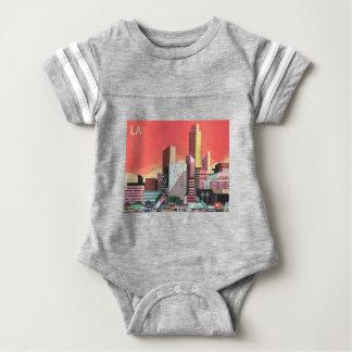 Los Angeles Vintage Travel Baby Bodysuit