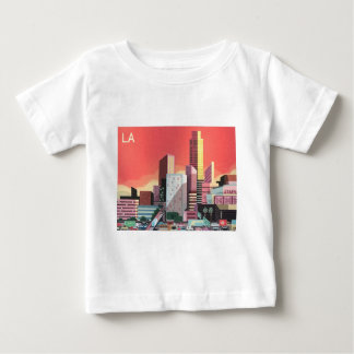 Los Angeles Vintage Travel Baby T-Shirt