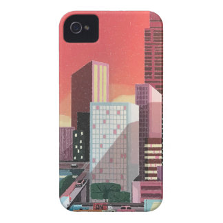 Los Angeles Vintage Travel iPhone 4 Cover