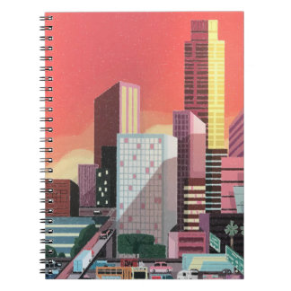 Los Angeles Vintage Travel Notebook