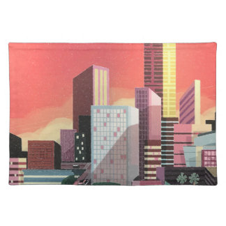 Los Angeles Vintage Travel Placemat