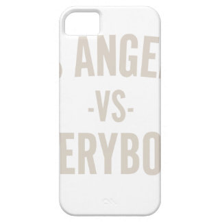 Los Angeles Vs Everybody iPhone 5 Cover