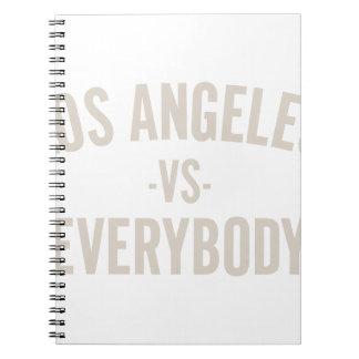 Los Angeles Vs Everybody Notebook