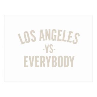 Los Angeles Vs Everybody Postcard