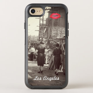 Los Angles California 1935 Olivera Street Photo OtterBox Symmetry iPhone 8/7 Case