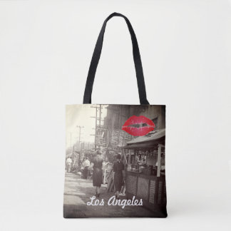 Los Angles California 1935 Olivera Street Photo Tote Bag