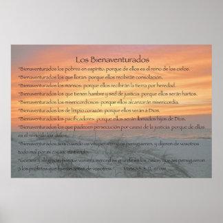 Los Bienaventurados (Version Horizontal) Poster