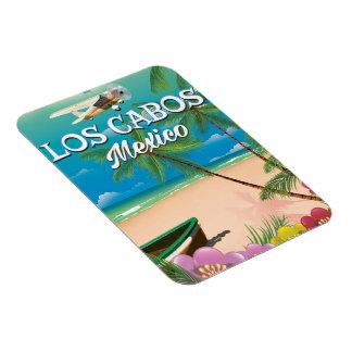 Los Cabos Mexico Beach poster Magnet