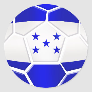 Los Catrachos Honduras soccer ball gifts Classic Round Sticker
