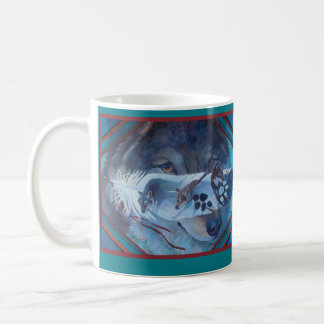 Los Lobos by Kathy Morrow Coffee Mug