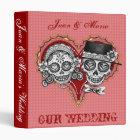 Los Novios - Dia de los Muertos Wedding Binder
