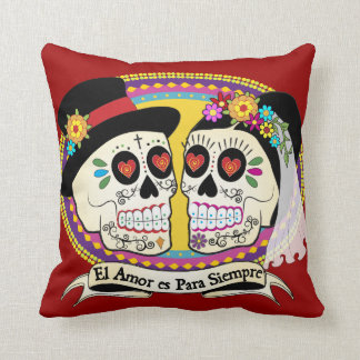 Los Novios (Spanish) Pillow