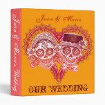 Los Novios - Sugar Skull Wedding Binder