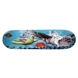 Los Pescadores de Nuebes - Streetart Skate Deck