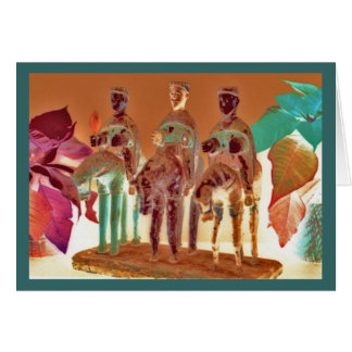 """""""Los Tres Reyes #3"""" Card"""