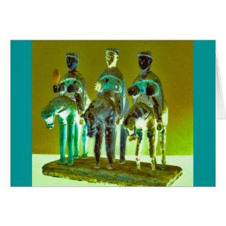 """""""Los Tres Reyes #4"""" Card"""