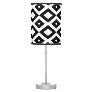 Losango Black Abajur Table Lamp