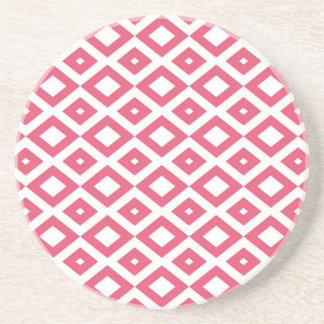 Losango Pink Carries Cup Coaster
