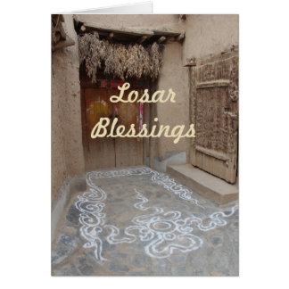 Losar Tibetan New Year Card