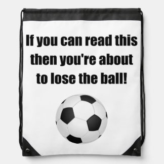 Lose The Ball Drawstring Bag