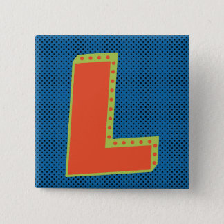 Loser - Big L - Biggest Loser 2 Inch Square Button