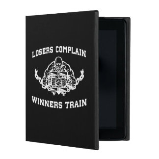Losers Complain, Winners Train iPad Case