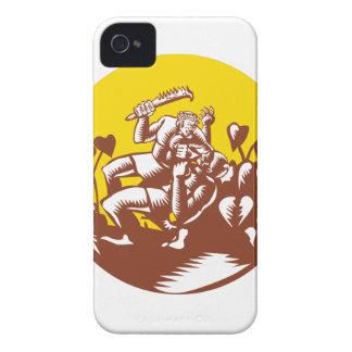 Losi Defeating God Circle Woodcut Case-Mate iPhone 4 Case