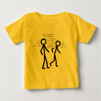 Losing An Electron joke infant t-shirt