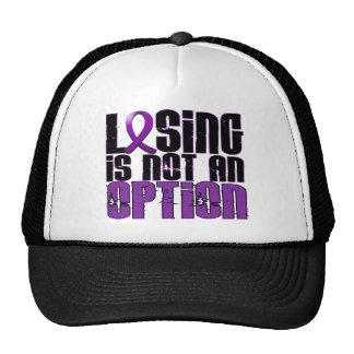 Losing Is Not An Option Crohn's Disease Trucker Hat