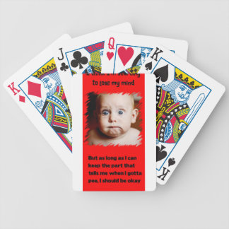Losing my Mind... Bicycle Playing Cards