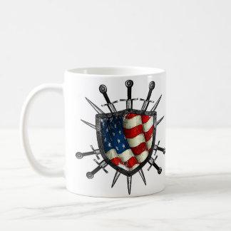 LosMoyas American Shield Coffe Mug