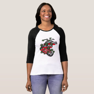 LosMoyas Flowered Heart T-shirt