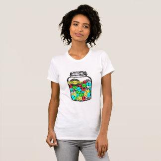 LosMoyas Pills of all flavor t-shirt