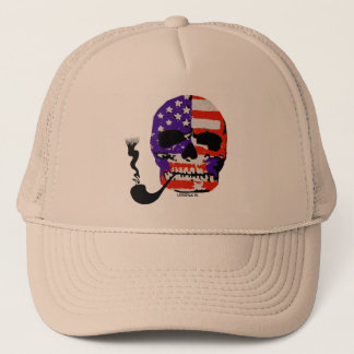 LosMoyas Smoking Hot Skull Hat