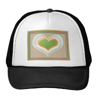 LOST and FOUND : Dancing Hearts Trucker Hat