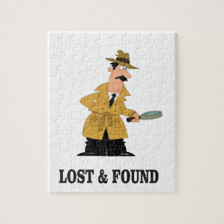 lost and found guy jigsaw puzzle