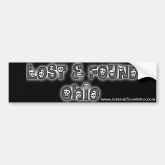 Lost and Found Ohio bumper sticker