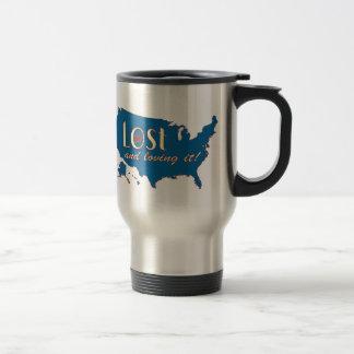 Lost and Loving It! Travel Mug