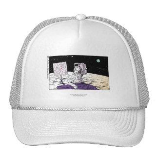 Lost Astronaut Funny Cap Trucker Hat