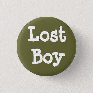 Lost Boy 1 Inch Round Button