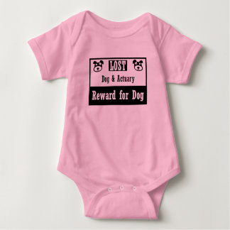 Lost Dog Actuary Baby Bodysuit